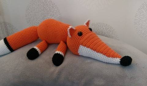 Download Crochet Pattern Fox immediately at Makerist