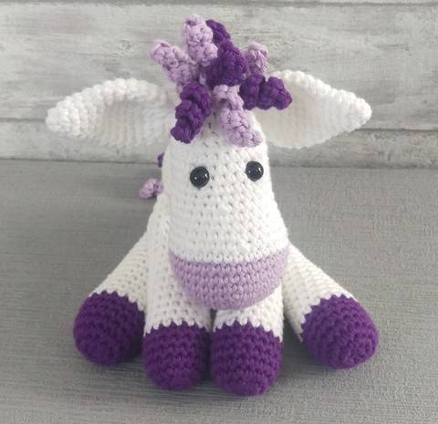Download Crochet Pattern Donkey immediately at Makerist