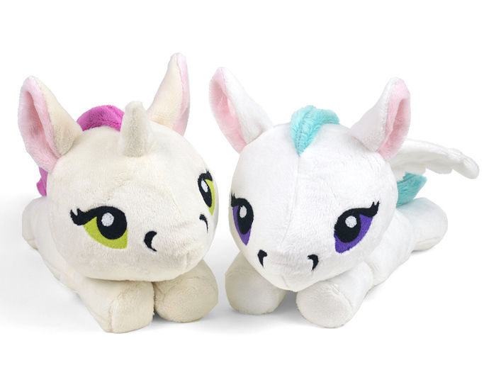 Download Unicorn Pegasus Kelpie Merpony Hippocampus Plush Toy Sewing Pattern - Sewing Patterns immediately at Makerist