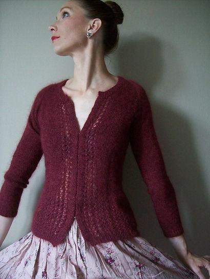 Esprit Glamour Cardigan's Jumper - Knitting (en) - Modèles de tricot bei Makerist sofort runterladen