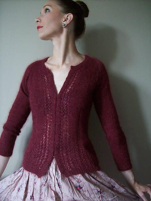 Esprit Glamour Cardigan's Jumper - Knitting (en) bei Makerist sofort runterladen