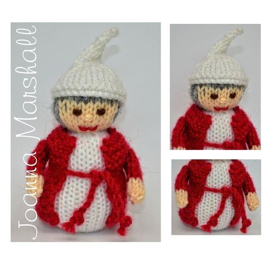 Download Knitting Pattern - Ebenezer Scrooge - Christmas Carol Doll - Knitting Patterns immediately at Makerist
