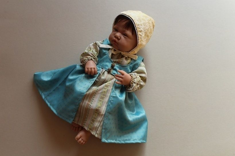 ARABELLA Puppenkleid + Mütze + Hose Prinzessin - Nähanleitungen bei Makerist sofort runterladen