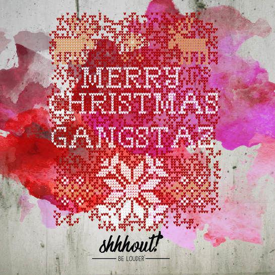 MERRY CHRISTMAS GANGSTAZ - Plotterdatei - Plotterdateien bei Makerist sofort runterladen