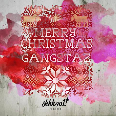 MERRY CHRISTMAS GANGSTAZ - Plotterdatei bei Makerist sofort runterladen