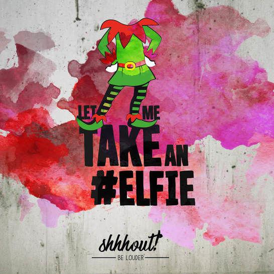 LET ME TAKE AN #ELFIE - Plotterdatei - Plotterdateien bei Makerist sofort runterladen