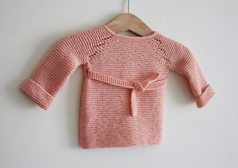 Télécharger Madeline - Brassière tricot bébé du Préma au 24 mois - Modèles de tricot tout de suite sur Makerist
