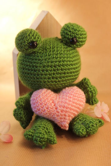Häkelanleitung Gratis Frosch Lorelai