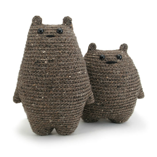 Download Tod and Dot the bears - Crochet Patterns immediately at Makerist