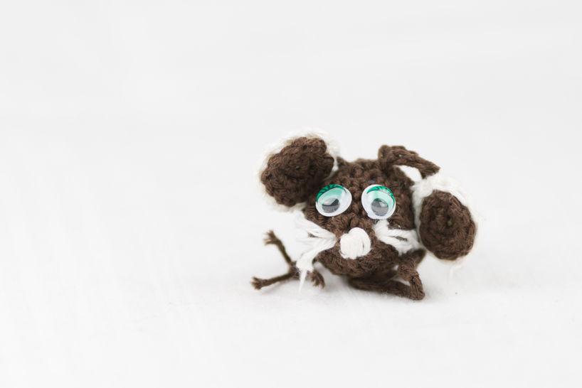 Häkelanleitung Maus Molly - Häkelanleitungen bei Makerist sofort runterladen