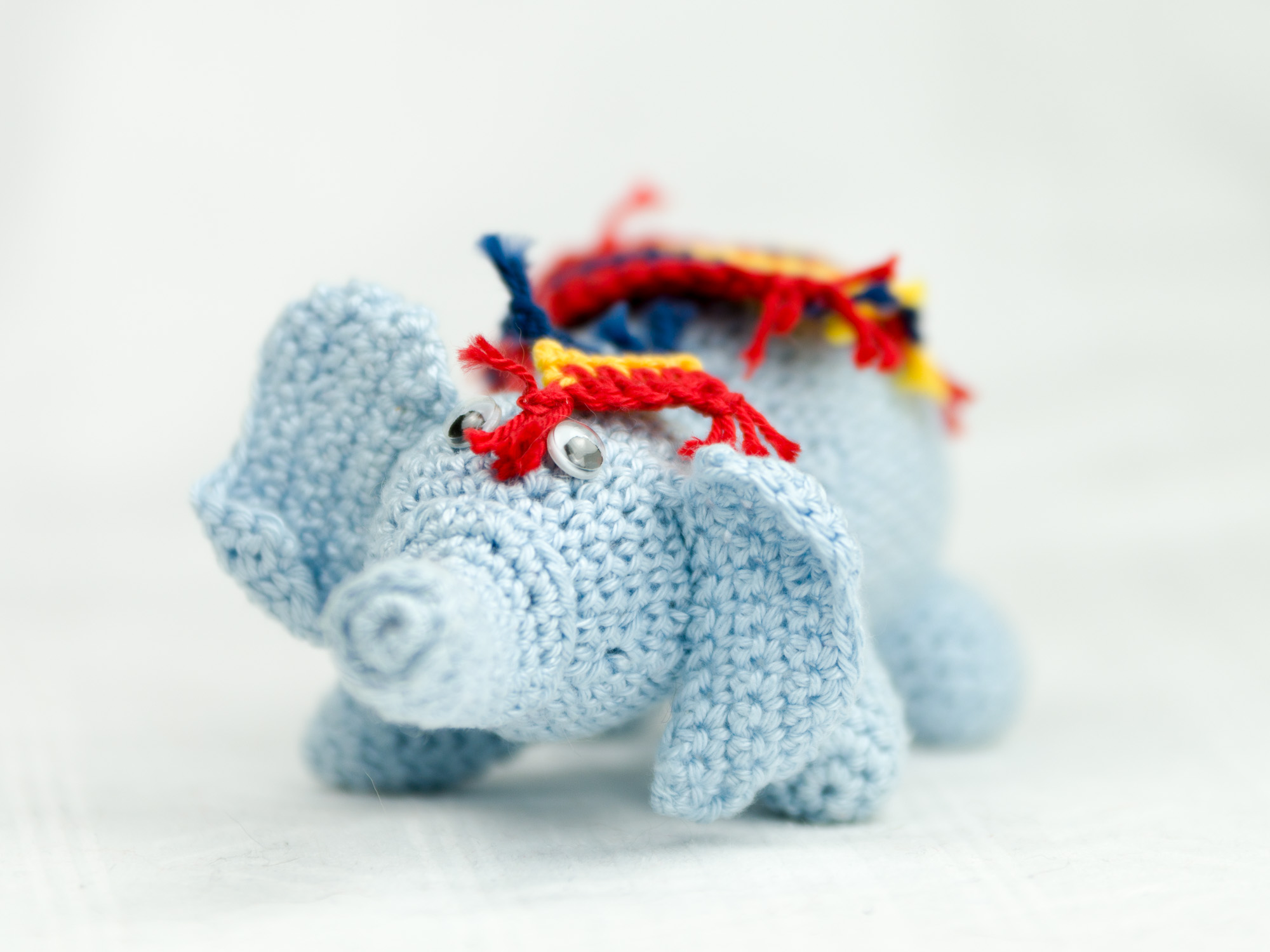 Häkelanleitung Elefant Fimo