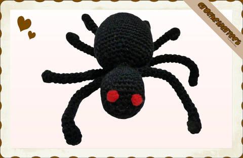 Häkelanleitung (035): Egon Spinnenbein bei Makerist sofort runterladen