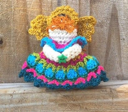 Download Mini Mosaic Angel Ornament - Crochet Patterns immediately at Makerist