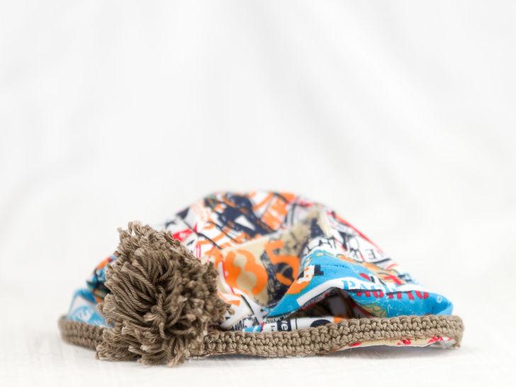 Nähanleitung Babymütze Benny - Nähanleitungen bei Makerist sofort runterladen