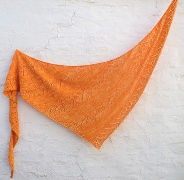 Download Knitting pattern shawl Priscille - Knitting Patterns immediately at Makerist