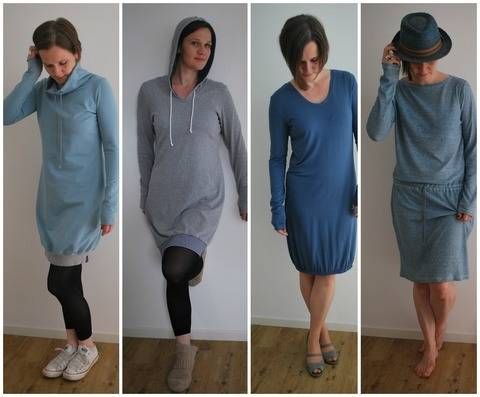 Download *Else* (dress pattern)  sizes 38 + 40 (modular system) immediately at Makerist