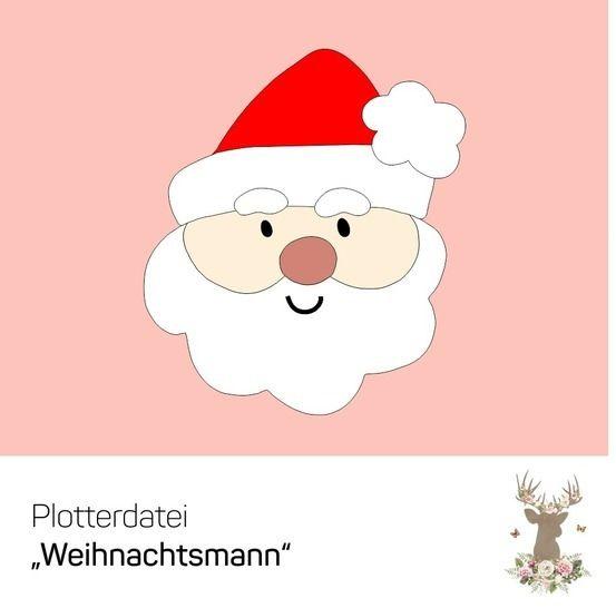 """Plotterdatei """"Weihnachtsmann"""" - Plotterdateien bei Makerist sofort runterladen"""