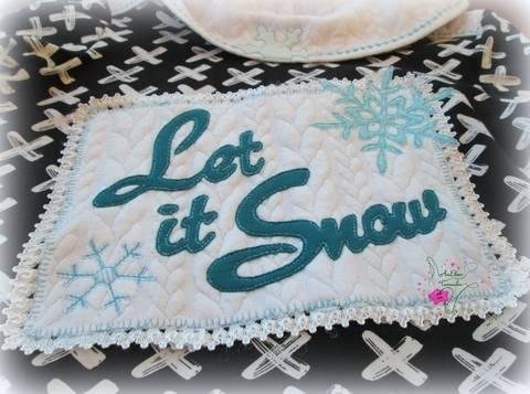 TraumWinter Applikation #1 - Let it Snow bei Makerist