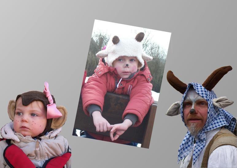 Nähanleitung E-Book Faschingsmütze Tiermütze Kostüm - Nähanleitungen bei Makerist sofort runterladen