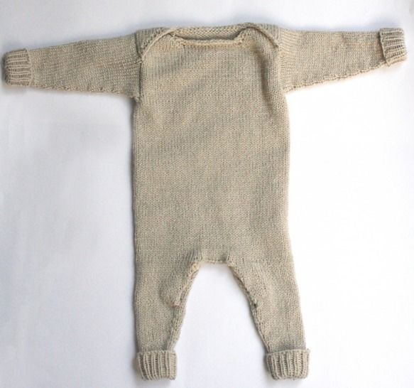 Download Baby Envelope Romper - Knitting Patterns immediately at Makerist