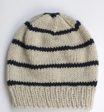 Download Baby Slouchy Hat - Knitting Patterns immediately at Makerist