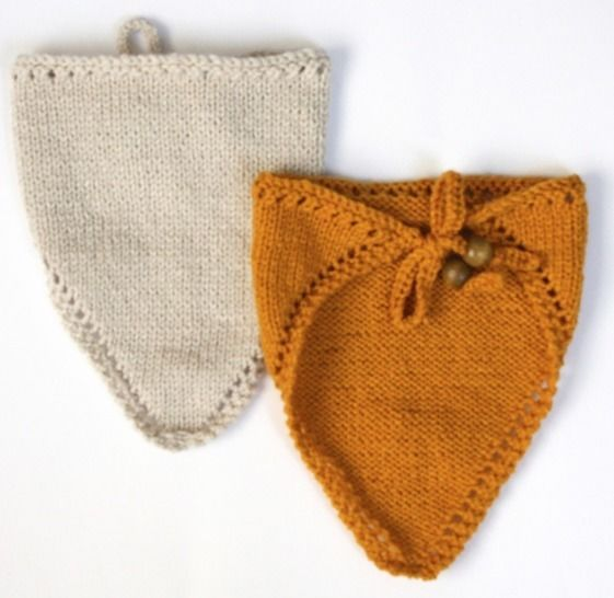 Download Baby Handkerchief Bib - Knitting Patterns immediately at Makerist