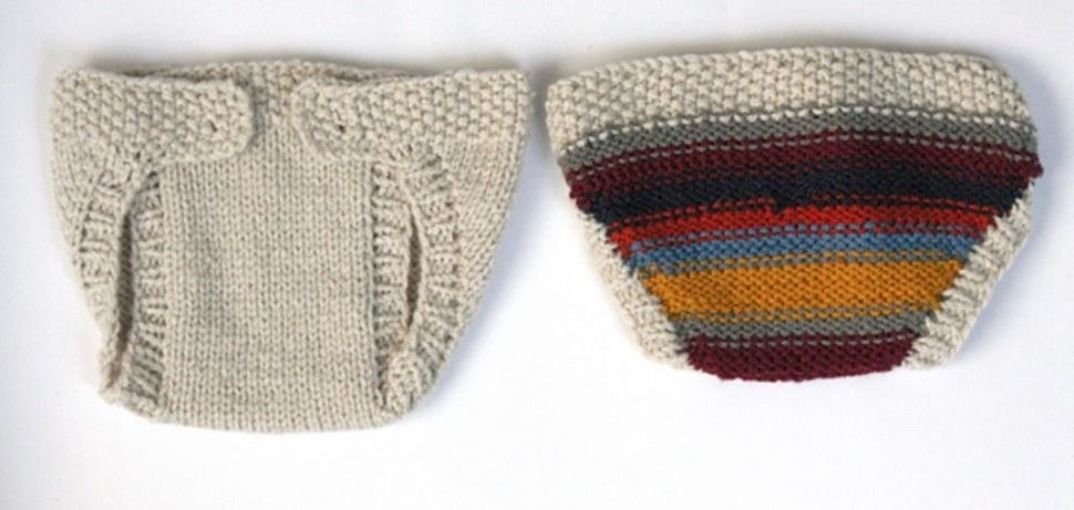 Download Baby Diaper Cover - Knitting Patterns immediately at Makerist