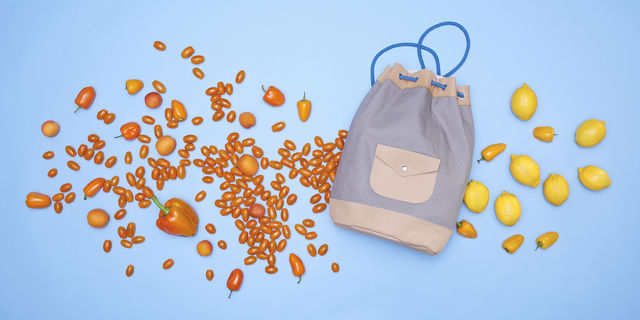 Download leather and canvas kitbag duffle bucket bag - Sewing Patterns immediately at Makerist