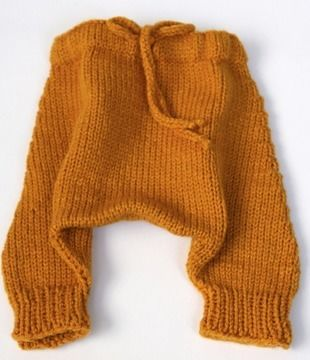 Download Baby Harem Pants - Knitting Patterns immediately at Makerist