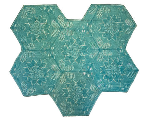 Download Kaleidoscope Shawl immediately at Makerist