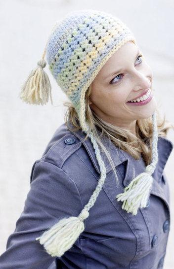 Fröhliche Mütze mit langen Zöpfen Häkelanleitung - Häkelanleitungen bei Makerist sofort runterladen