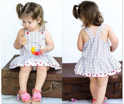 Download Baby Romper sewing pattern -- Tinkerbelle Romper - Sewing Patterns immediately at Makerist