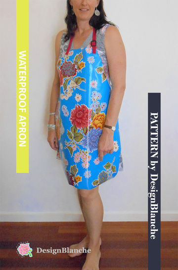 Download Adult Waterproof Apron Pattern - Sewing Patterns immediately at Makerist