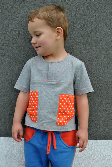 Download Boys Casual Shirt Sewing Pattern -- The Kieran Shirt - Sewing Patterns immediately at Makerist