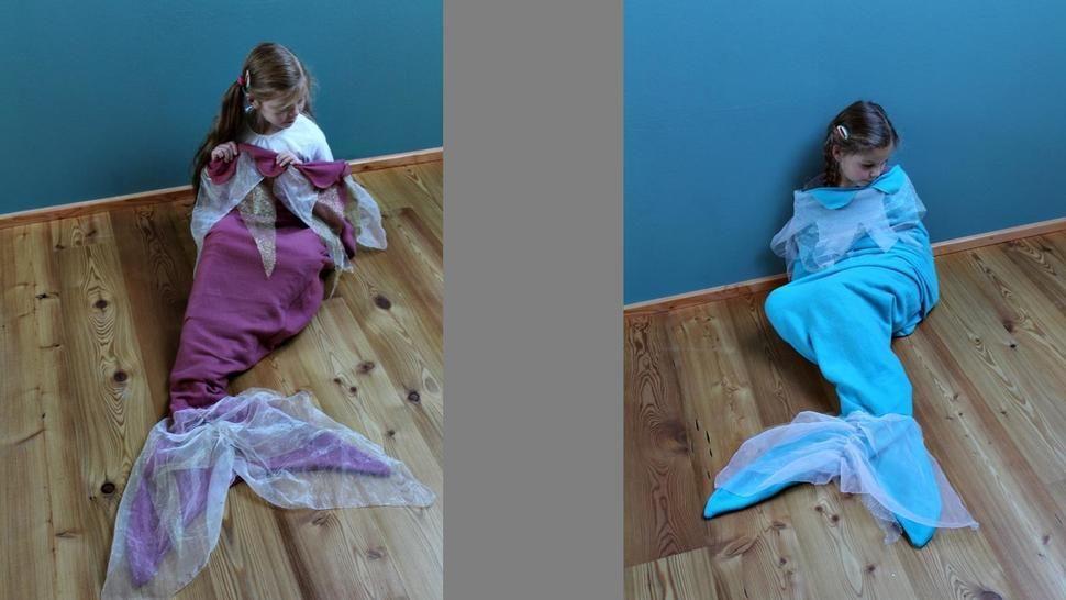 ARIELLE E-Book Schlafsack Kuscheldecke Verkleidung - Nähanleitungen bei Makerist sofort runterladen