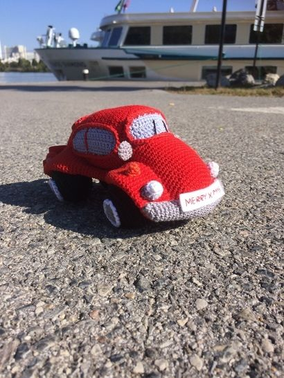Auto Häkelanleitung