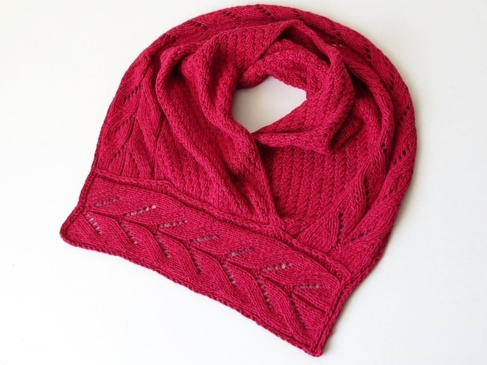 Knitting Pattern Cowl Lasbelin