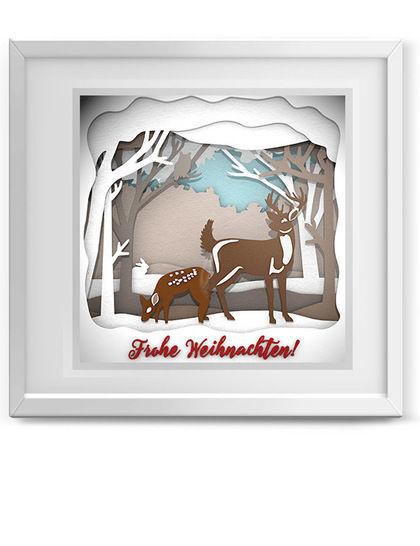 Weihnachtszauber Mega Set Plottervorlage - Plotterdateien bei Makerist sofort runterladen