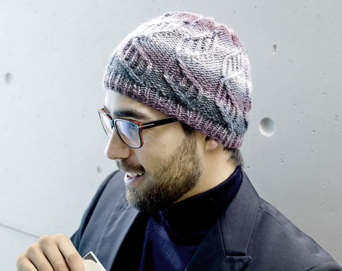 Mütze mit Zopfmuster Strickanleitung - Strickanleitungen bei Makerist sofort runterladen