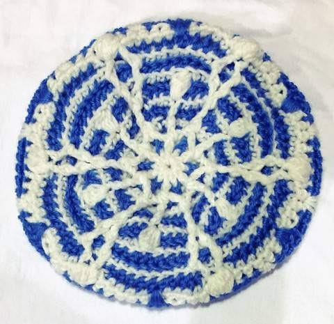 Download Snowflake Crochet Hat immediately at Makerist