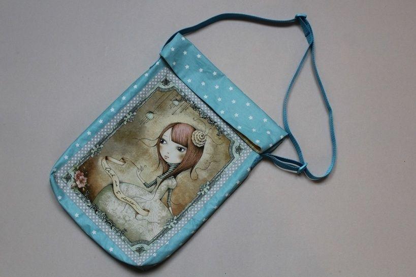 LAURA Büchertasche Tasche Beutel - Nähanleitungen bei Makerist sofort runterladen