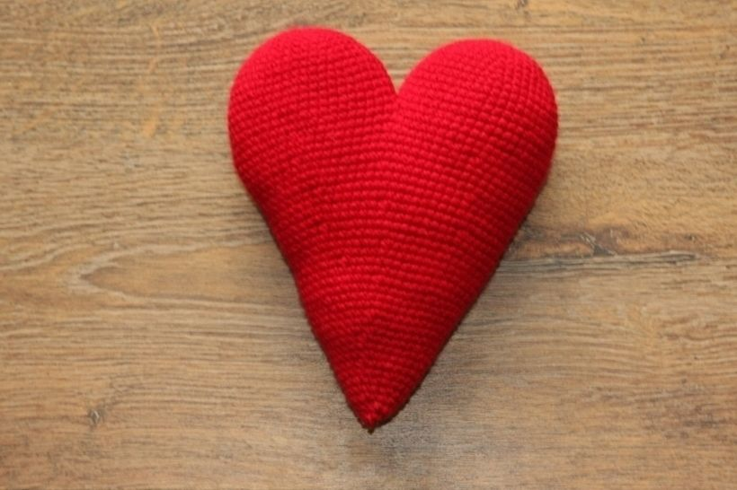 Häkelanleitung großes Herz - Häkelanleitungen bei Makerist sofort runterladen