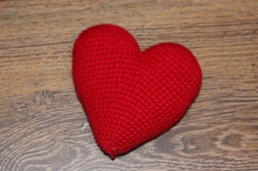 Häkelanleitung kleines Herz - Häkelanleitungen bei Makerist sofort runterladen
