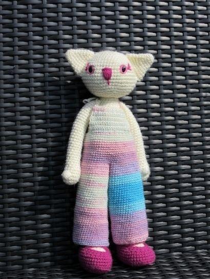 Häkelanleitung kitty the cat - Häkelanleitungen bei Makerist sofort runterladen
