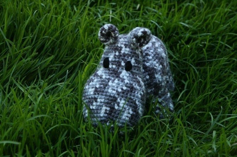 Mama Hippo Häkelanleitung - Häkelanleitungen bei Makerist sofort runterladen