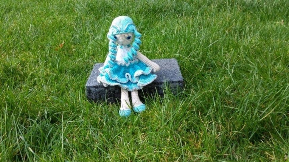Puppe Aquarelle - Häkelanleitung - Häkelanleitungen bei Makerist sofort runterladen
