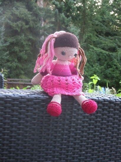 Häkelanleitung Puppe Mayara - Häkelanleitungen bei Makerist sofort runterladen