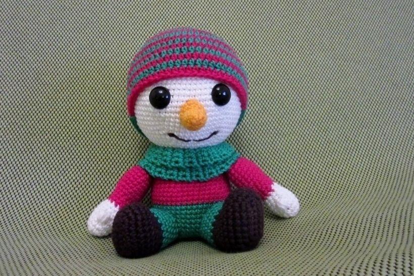 Häkelanleitung Frosty, der Schneemann - Häkelanleitungen bei Makerist sofort runterladen