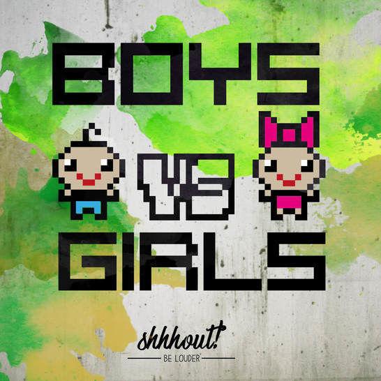 BOYS VS GIRLS - Plotterdatei - Plotterdateien bei Makerist sofort runterladen
