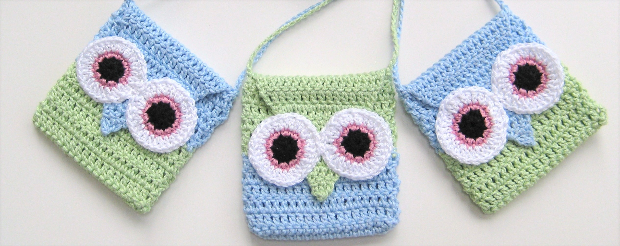 Owl handbag, Crochet Pattern no2, Easy, in both UK/European and US ...